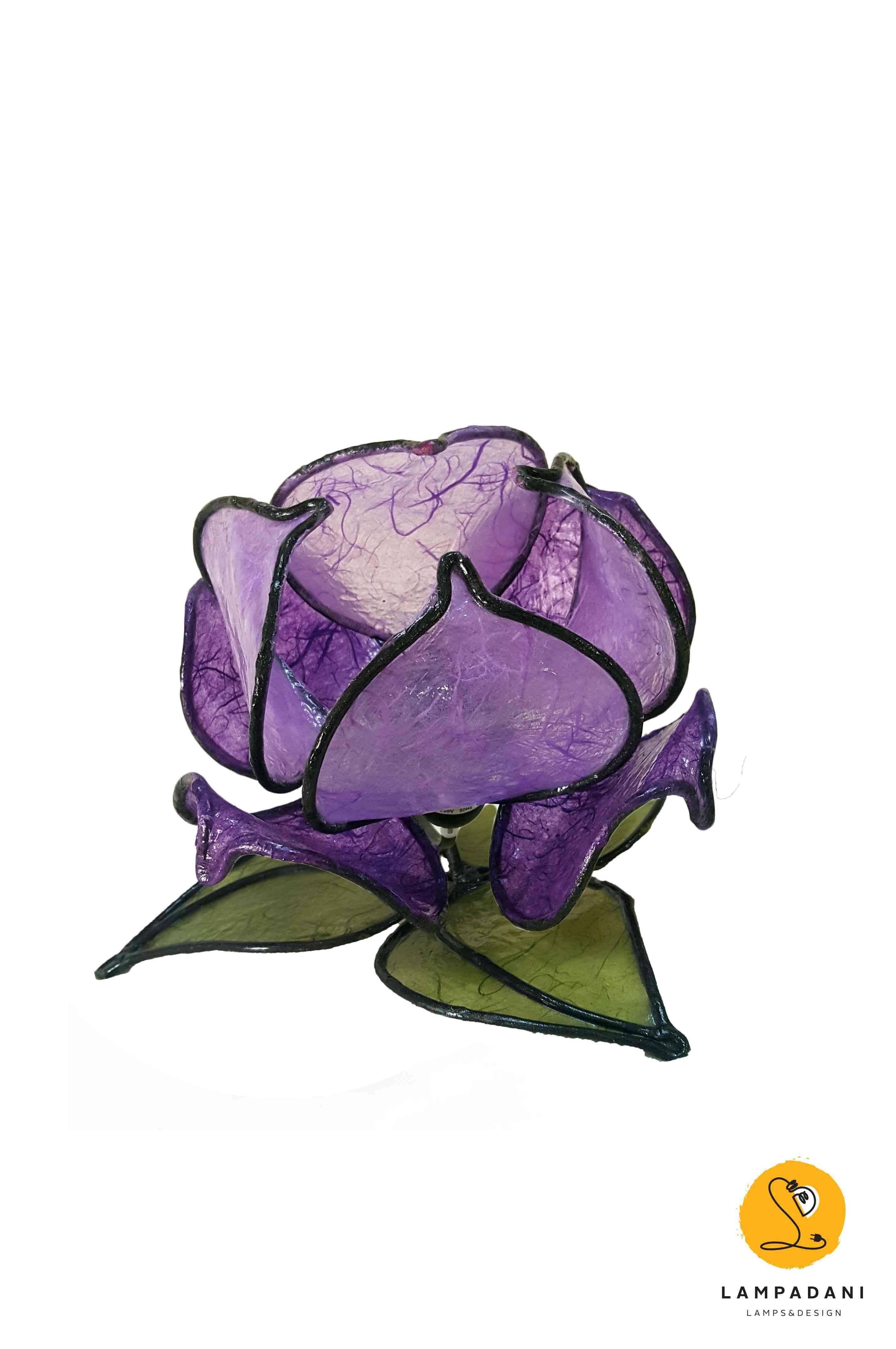 Lotus flower table lamp 8 petals low lampadani lotus flower table lamp 8 petals low izmirmasajfo