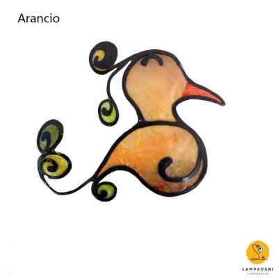 uccellino 1 arancio