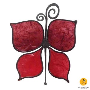 butterfly-shaped magnet red