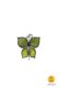 butterfly-shaped magnet green
