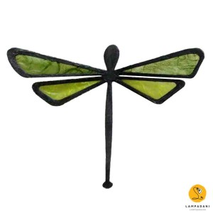 dragonfly-shaped magnet green