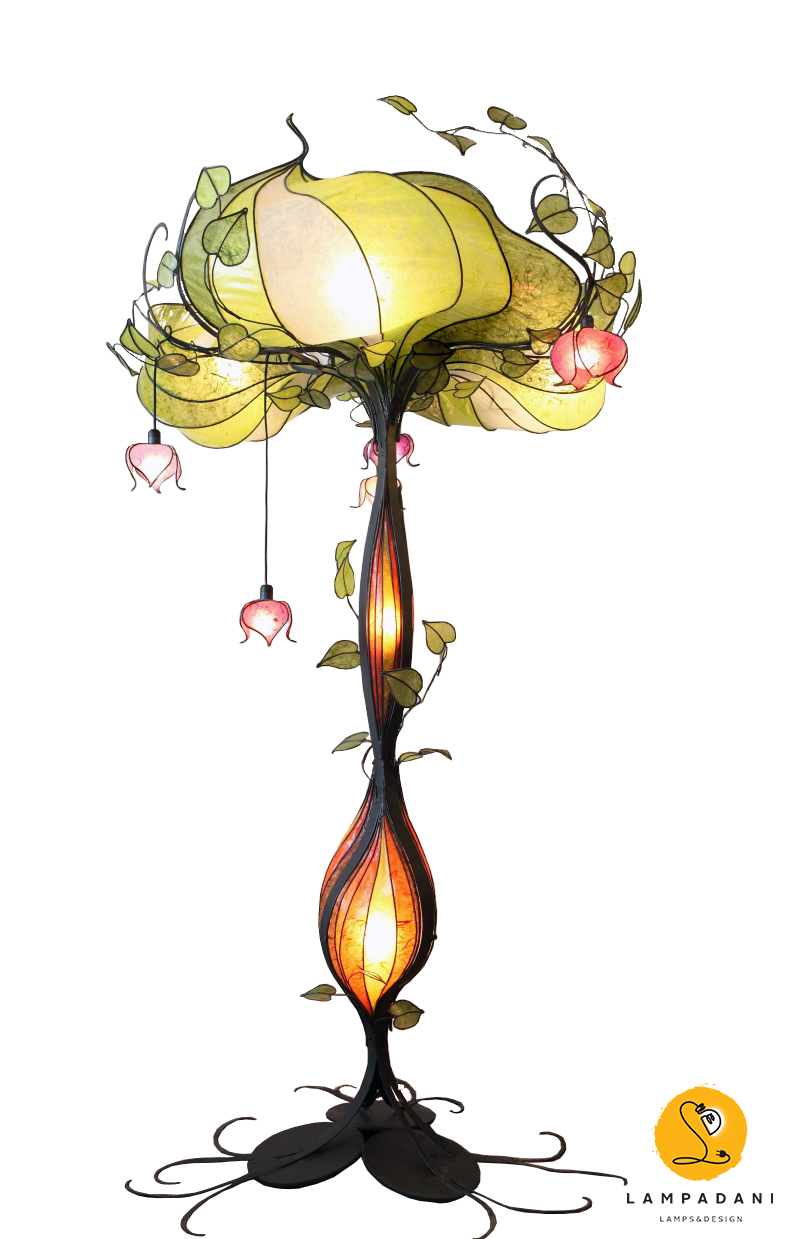 Floor Lamp Tree Of Light Sculpture Lamp Lampadani