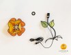 flower-shaped table lamp parts
