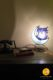 owl-shaped table lamp