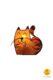 cat-shaped table lamp orange