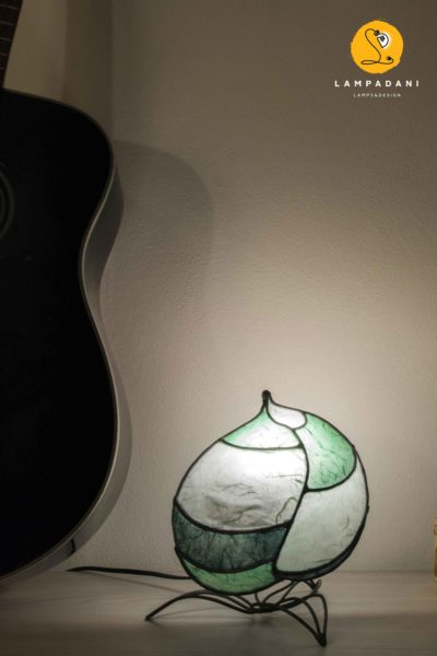 leaf shaped bedside lamp