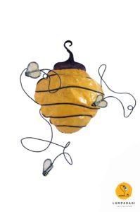 hive shaped Wall light